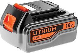 Black&Decker Akumulator (18,0V akumulator wsuwany Li-Ion 4.0Ah) - BL4018-XJ