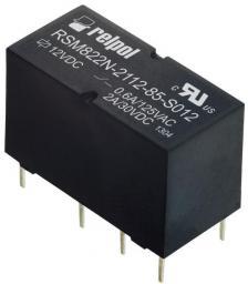 Relpol Przekaźnik 2P 2A cewka 5V Dc  - RSM822N-2112-85-S005