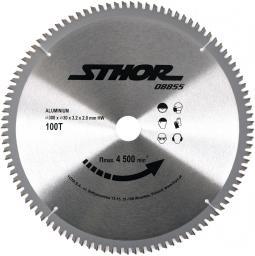 STHOR Piła tarczowa z węglikiem do aluminium 300x30 z100 (08855)