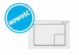 Przycisk spłukujący Blue M10 do WC biały (B061201019)
