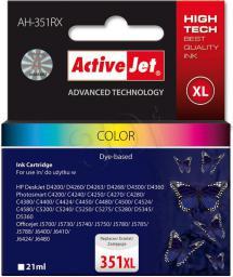 Activejet tusz AH-351RX / CB338EE nr 351XL (color)