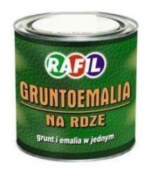 Rafil Gruntoemalia na rdzę półmatowa RAL7040 0,8L