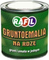 Rafil Gruntoemalia na rdzę czerwona tlenkowa RAL 3009 półmatowa 0,8L