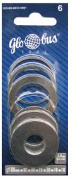 GLOBUS Pierścienie redukcyjne 35/32, 35/30, 35/25, 35/20, 35/18, 35/16 6szt. - G-KX400-0035-0001