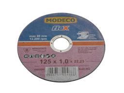 Modeco Ściernica płaska do cięcia metalu 125mm (MN-68-962)