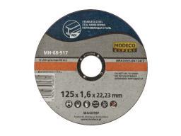 Modeco Ściernica płaska do cięcia stali nierdzewnej 125mm 25szt. (MN-68-912)