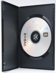 Ednet Pudelko DVD 10 pack, czarne 1xDVD SLIM