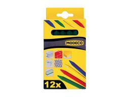Modeco Kreda woskowana zielona 120mm 12szt.  - MN-88-034