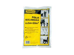 Folia malarska Modeco cienka 4 x 12,5m (MN-05-621)