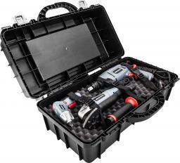 GRAPHITE Zestaw elektronarzędzi wkrętak 58G145 + wiertarka 58G715 + urządzenie wielofunkcyjne 59G022 + walizka + akcesoria (84-112-PS12)