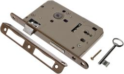 Jania Zamek drzwiowy 72/60mm na klucz z dźwignią (Z010)