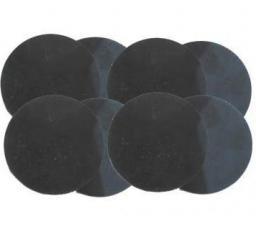 Szkło do okularów spawalniczych przyciemniane E-5 50mm