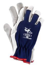 Reis Rękawice ochronne RLToper GW wykonane z wysokiej jakości skóry koziej rozmiar 9 (RLTOPER GW 9)