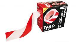 Reis Taśma ostrzegawcza biało-czerwona dwustronna w podajniku 70mm 100mb