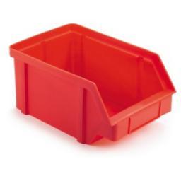 Pojemnik magazynowy rozmiar 1 czerwony