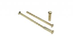 Metal-Bud Zestaw śrub montażowych mosiężnych ZM