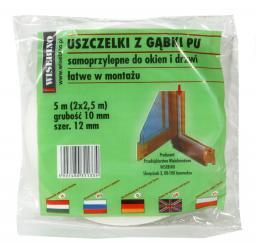 Stomil Sanok Uszczelka gąbka 10x10mm 5m 1szt.