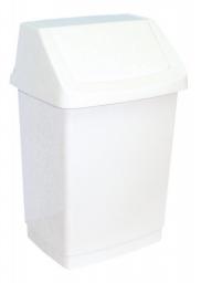 Kosz na śmieci Curver Click-It uchylny 25L biały (BHP HIC 0021)