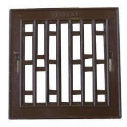 Szyld kratki plastikowy 14x21cm brązowy