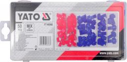 Yato Zestaw szybkozłączy elektrycznych 50szt. (YT-06868)