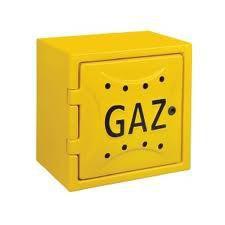 Osłona licznika gazu z tworzywa 120x600x600mm