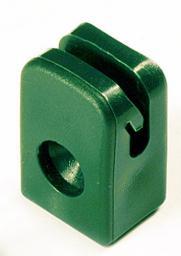 Przelotka drutu mocowana na wkręt zielona 230 1szt.