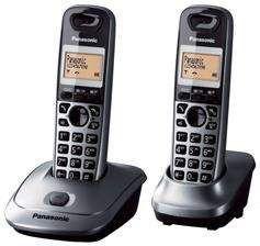 Telefon bezprzewodowy Panasonic KX-TG2512PDM (2 Słuchawki)