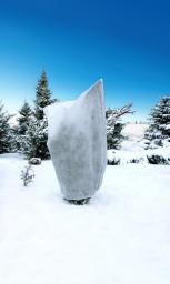 Kaptur ochronny 80x120cm agrowłóknina 50g/m2 biały wiązany 2szt.