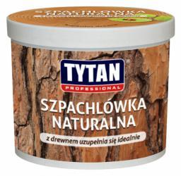 Tytan Szpachlówka naturalna do drewna buk 200g  DRS-SZ-BK-020