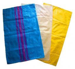 Worek polipropylenowy 65x105cm niebieski