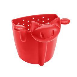 Koziol Zaparzaczka do herbaty MIMMI - kotek czerwona (KZ-3236583)