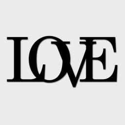 DekoSign Próbka napisu LOVE (LOVE4-1)