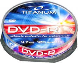 Esperanza DVD-R TITANUM 4,7 GB x16 - Cake Box 10