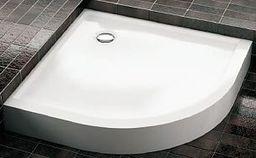 Brodzik Aquaform Invest półokrągły narożny 90 x 90cm (200-06954)