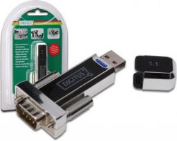 Adapter USB Digitus RS232 - USB Czarny (ADA70155)