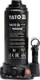 Yato Podnośnik hydrauliczny 8T słupkowy 230-457mm (YT-17003)