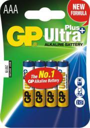GP Battery Bateria Ultra+ AAA / R03 4szt.