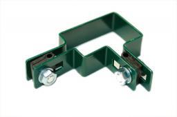 Metalurgia Obejma montażowa narożna zielona