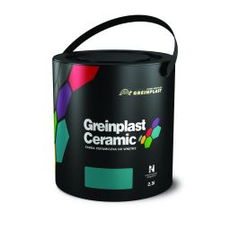 Greinplast Farba ceramiczna FWC do wnętrz Wypalony węgiel 2,5L
