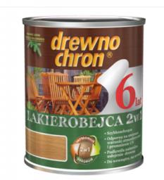 Drewnochron Lakierobejca 2w1 dąb ciemny 0,8L