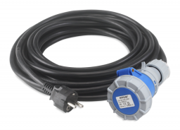 RUBI Kabel z wtyczką 230V/50Hz 3,5m (58850)