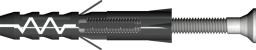 Baks Kołek rozporowy Fi10x60mm plastikowy - 650639