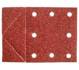 GRAPHITE Papier ścierny 115x160mm otwory rzep perforacja do odrywania K60 3 szt. - 55H814