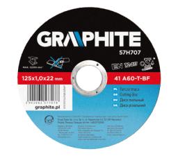 Graphite Tarcza tnąca do metalu 115x1.0x22.2 mm 41 A60-T-BF (57H705)