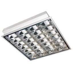 Lena Lighting Oprawa rastrowa 4x14W T5 PAR EVG 010026L
