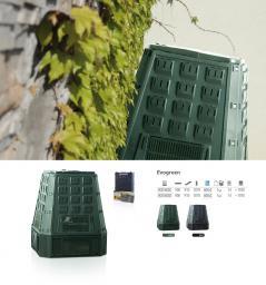 Prosperplast Kompostownik EVOGREEN 600L zielony (IKST600ZI)