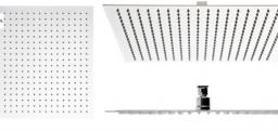 Deszczownica REA Ultra Slim 1-funkcyjna chrom (P0091)