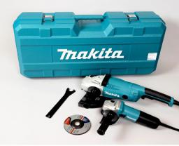 Makita Zestaw szlifierek GA9020 i 9558HNR (DK0053G)