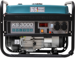 Könner&Sohnen Agregat prądotwórczy KS3000 benzynowy 1F 3kW - KS3000