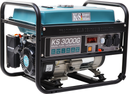 Könner&Sohnen Agregat prądotwórczy KS 3000 G 1K 3kW benzyna/LPG (KS3000G)